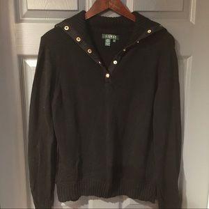 Ralph Lauren Black Sweater Size Large
